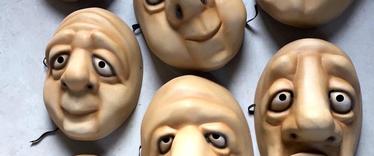 StrangeFace Masks narrow